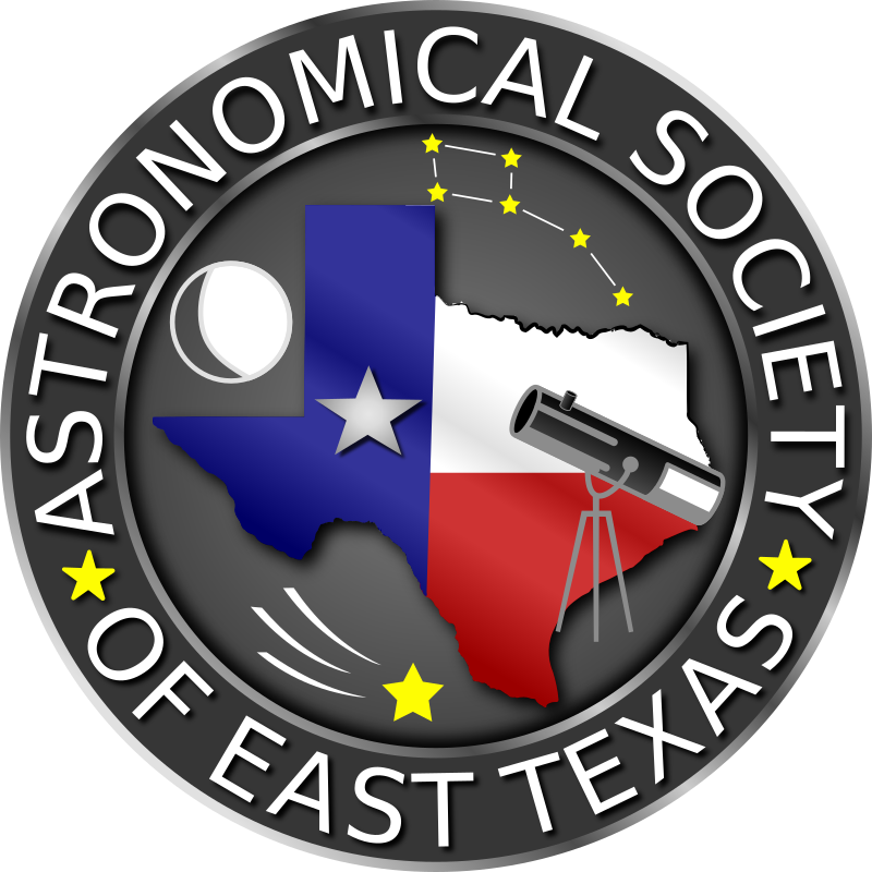 astronomical society of east texas logo